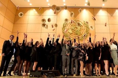 Cérémonie de diplôme Alumni Ecole hoteliere de Geneve - Graduation Ceremony Hotel management School of Geneva