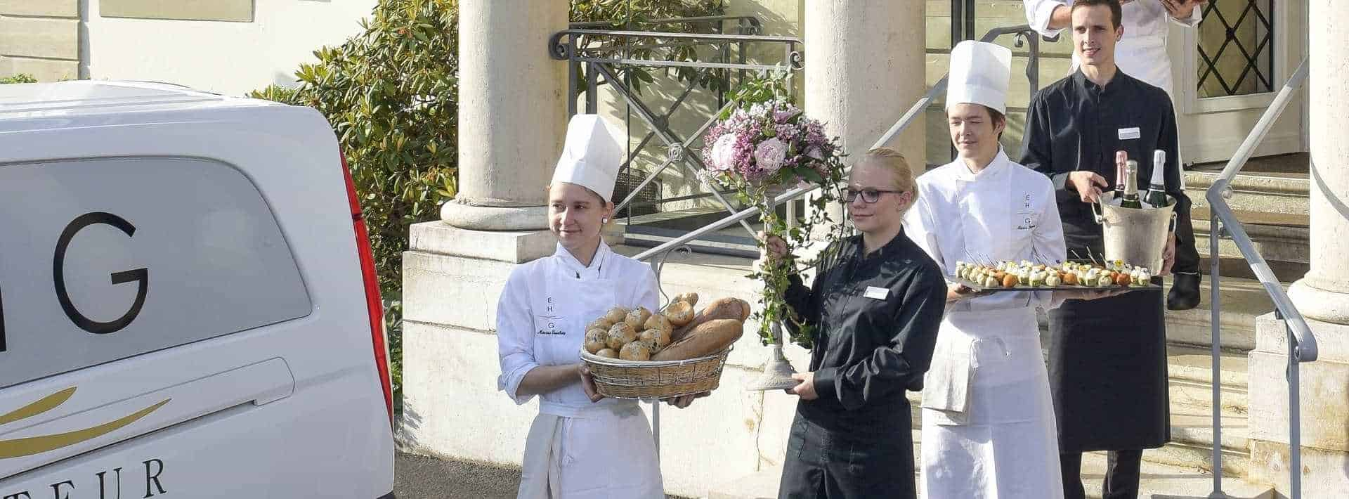 Best Catering Service in Geneva Service traiteur pour société EHG Traiteur- Catering Service | One of the Best Caterer in Geneva
