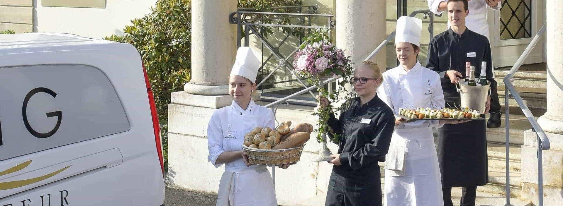 A corporate catering in Geneva | Choisir l'EHG Traiteur pour votre Evenement a Genève est un gage de qualité
