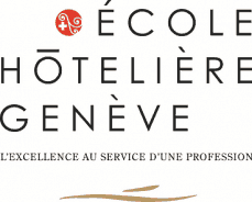 Logo - Recruter un étudiant de l'Ecole Hôtelière Genève sur fond blanc