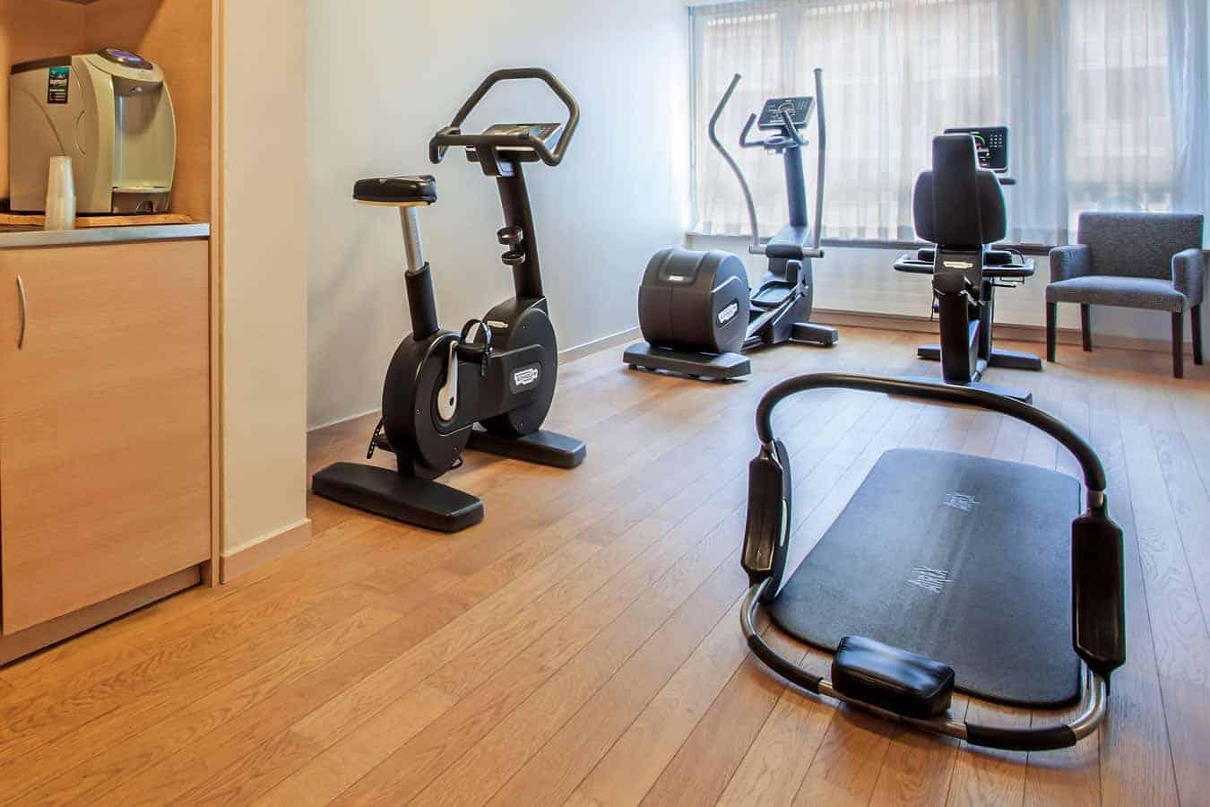 Flaire du sport au fitness au Starling résidence a geneve