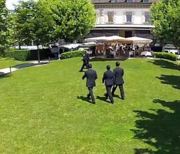 Inauguration de pavillon 2 de l'L'Ecole Hôtelière de Geneve