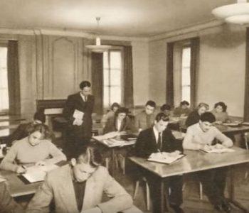 L'Ecole Hôtelière de Geneve En 1960