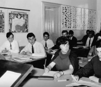 L'Ecole Hôtelière de Geneve Et ses salles de classes en 1970