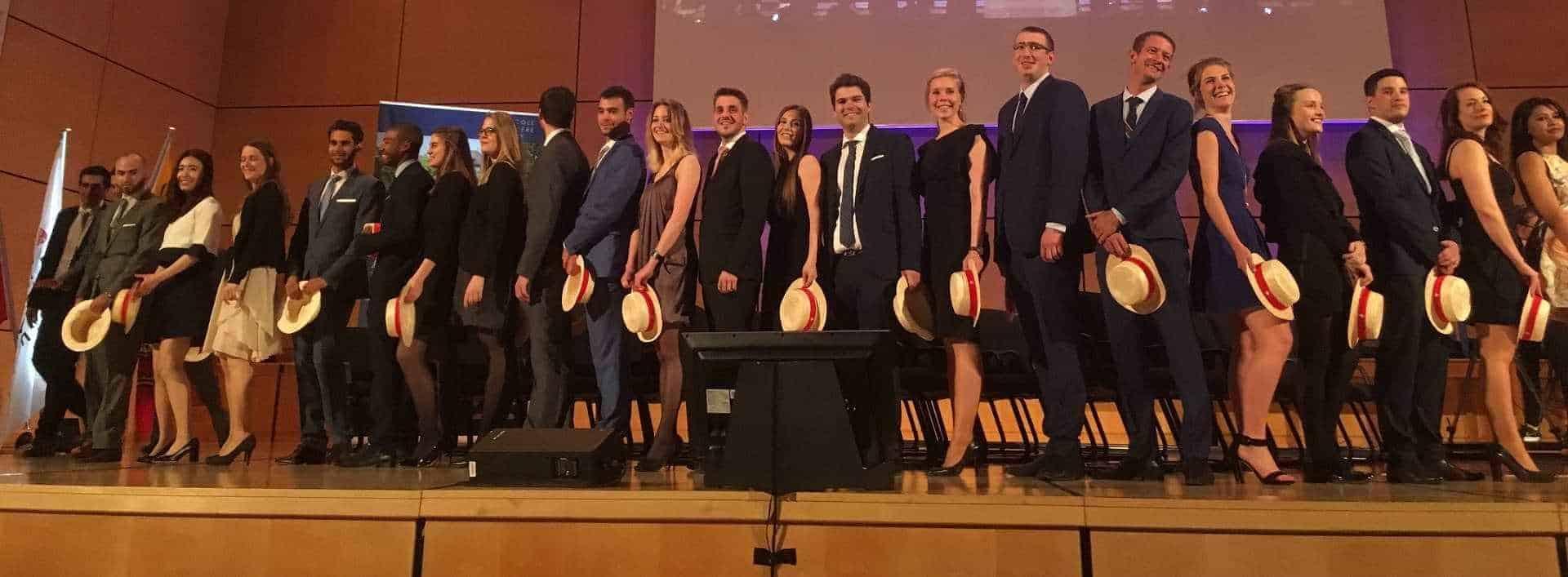 Cérémonie de remise des diplomes aux alumni de l'ecole hotelière de Geneve