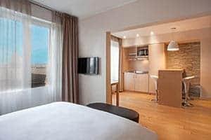 Réserver un appartement avec kitchinette a l'Hôtel Starling Résidence a Genève