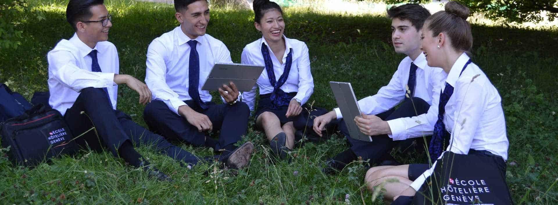 Le développement durable fait partie de l'ADN de l'Ecole Hôtelière de Genève. Le développement durable à l'école