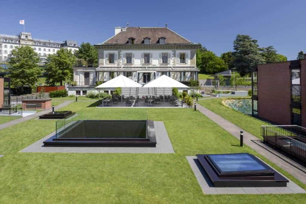 Réserver votre Business Lunch au Restaurant Vieux-Bois à Geneve