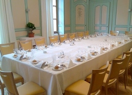 Repas d'affaires au restaurant à Genève - Réserver un repas d'affaires à Genève au restaurant vieux bois