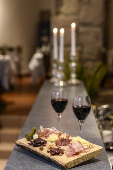Dégustation de Vins au restaurant l'auberge a chambesy
