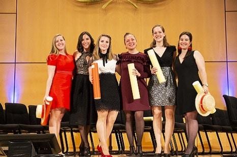 Etudiantes diplomees de l'Ecole hôteliere de Geneve