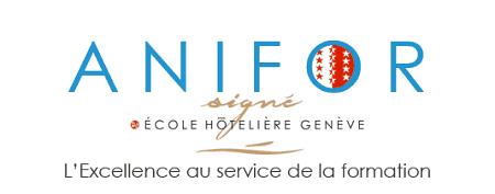 Logo Anifor - Centre de Formation Professionnel Hotelier de l ANIFOR dans le Valais Suisse