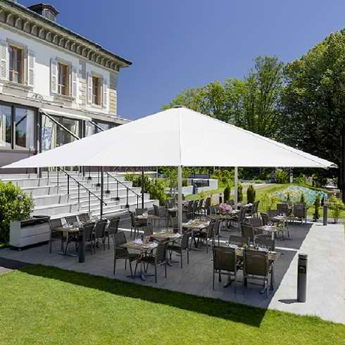 Réservez votre table en terrasse au restaurant gastronomique vieux Bois à genève