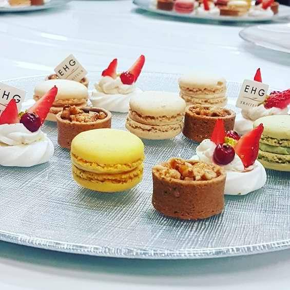 EHG Traiteur, Nos desserts préparés par le service Traiteur de l'Ecole Hôtelière Genève pour réussir votre événement
