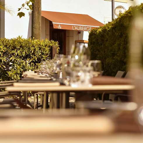 Restaurant l'Auberge in Chambesy | Restaurant avec terrasse à Chambesy - Le restaurant L'Auberge Pregny Chambesy