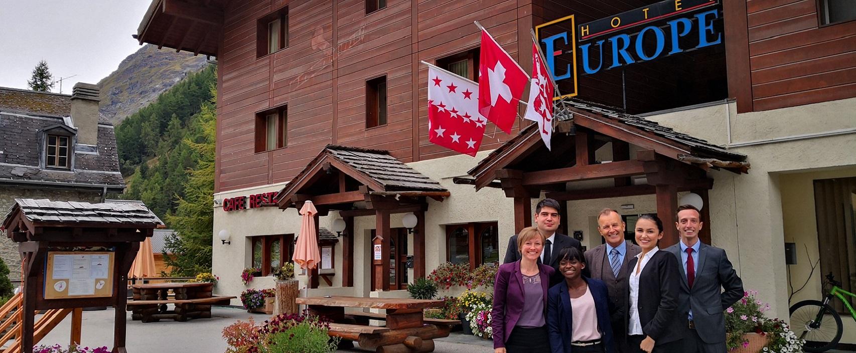 Centre de formation du Valais Anifor . Val d'anniviers