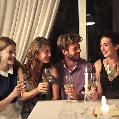 Apéritif Dinatoire pour le repas de fin d'année de votre entreprise au restaurant l'Auberge Chambesy Genève