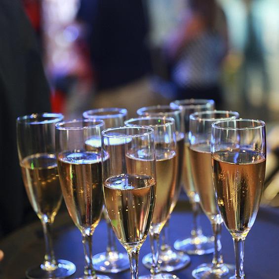 Cocktail au Champagne EHG Traiteur Genève