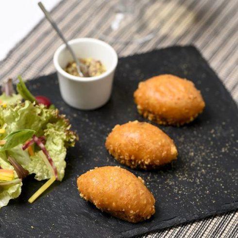 Mini Malkoff Restaurant l'Auberge a Chambesy- Soirée Accord mets et champagne Deutz le 28.11.2019 - Soirée mets et champagne - soirée thématique restaurant chambesy