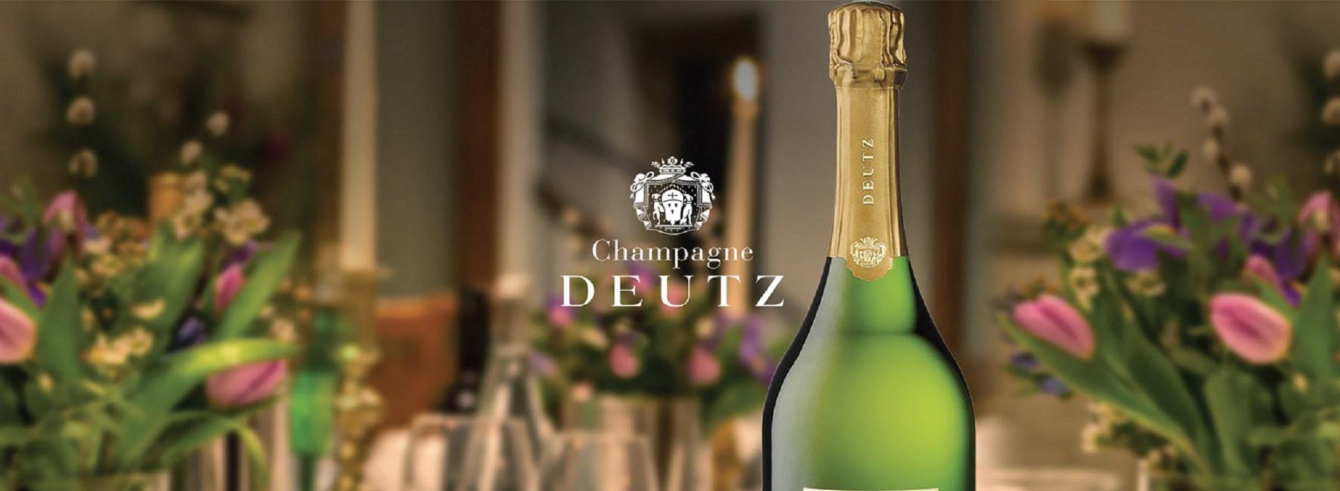 """Le restaurant L'Auberge à Chambésy & les champagnes Deutz organisent une soirée thématique au restaurant . """"Soirée Accord mets et champagne """" le 28.11.2019"""