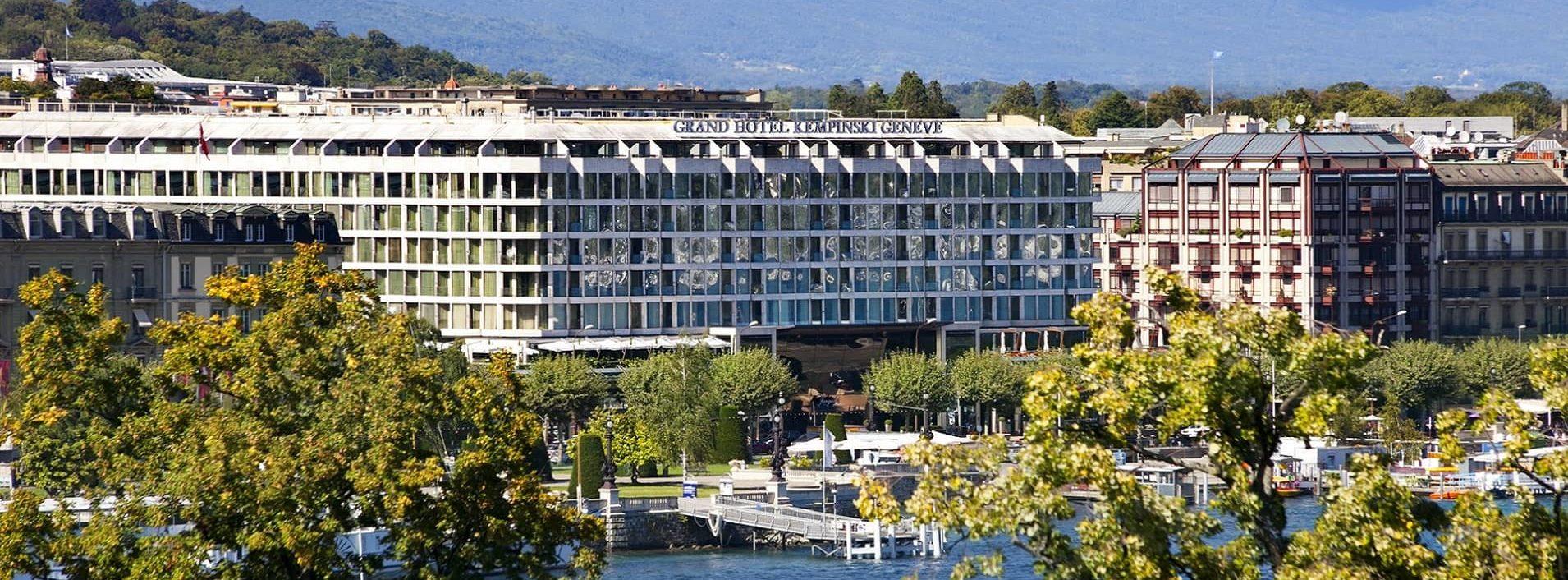 Visite des étudiants ANIFOR au Grand Hotel Kempinski Geneva