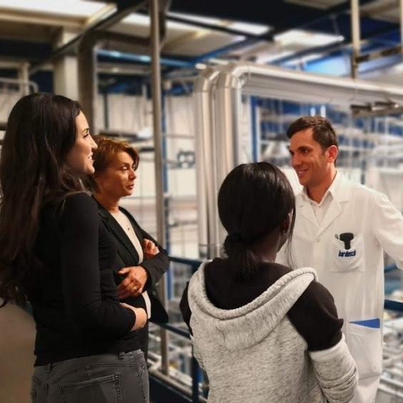Anifor Suisse - Formation au métier du gouvernante d'hôtel - Le département Housekeeping - Visite Bardusch Sierre