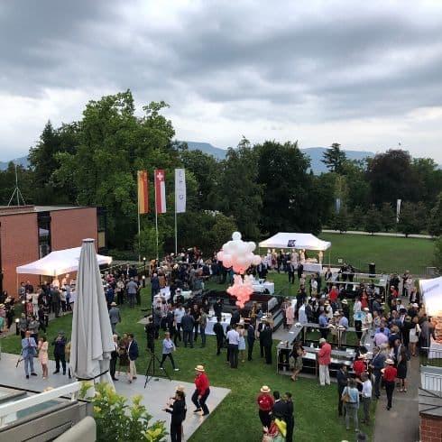 réception d'inauguration à Genève -Organiser un Banquet a Genéve - Organize a banquet in Geneva