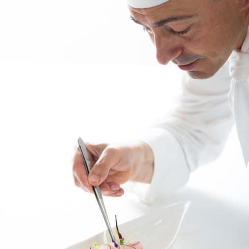 Un Chef de cuisine a Genève - Stéphane Faval Chef du restaurant Vieux-Bois à Genève