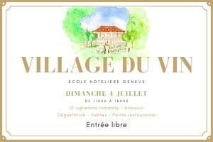 Logo Village du Vin
